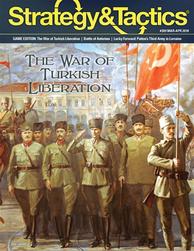 Strategy And Tactics #309: The War Of Turkish Liberation Box Front
