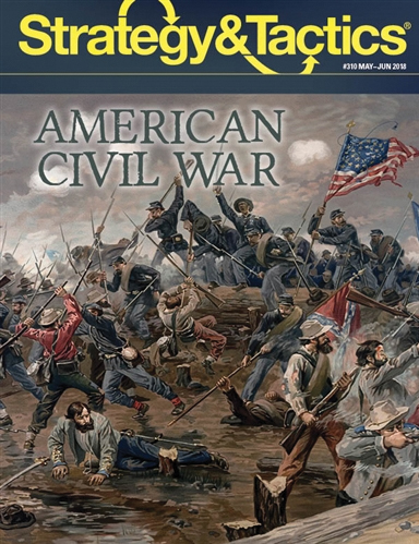 Strategy And Tactics #310: The American Civil War Box Front