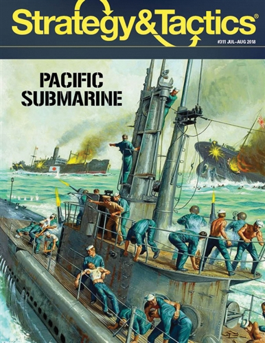 Strategy And Tactics #311: Pacific Subs Box Front