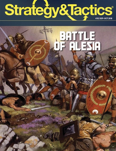 Strategy And Tactics #312: Alesia Box Front