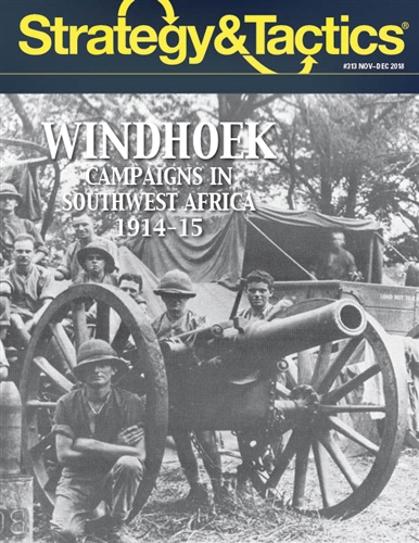 Strategy And Tactics #313: Windhoek - Southwest Africa 1914-15 Box Front