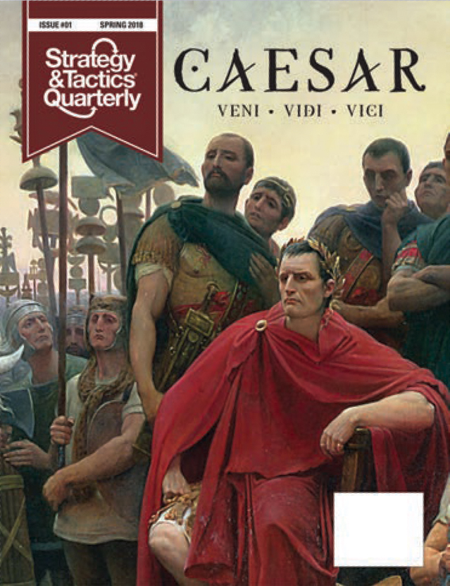 Strategy And Tactics Quartely #1: Caesar Box Front
