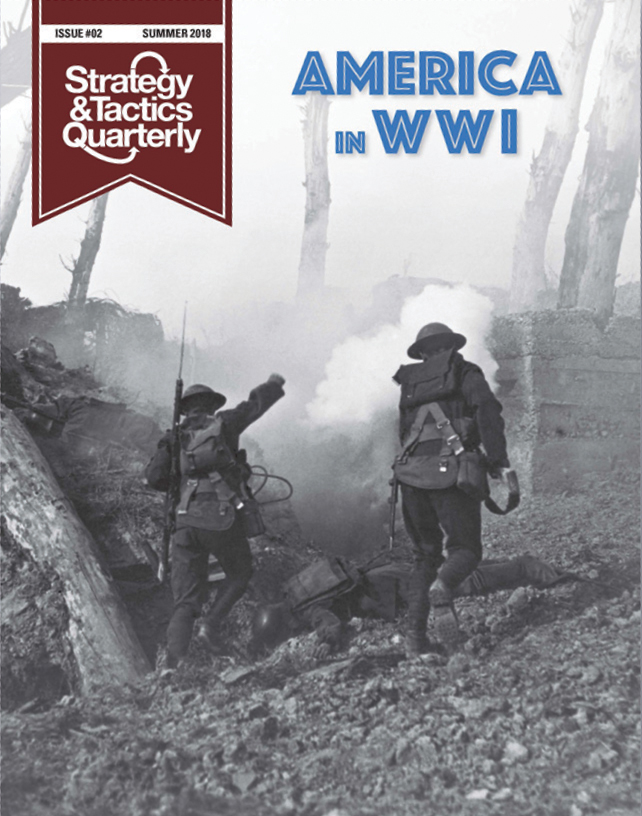 Strategy And Tactics Quartely #2: America In Wwi Box Front