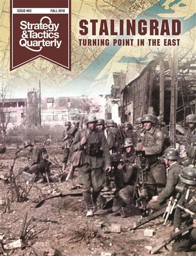 Strategy And Tactics Quartely #3: Stalingrad Box Front