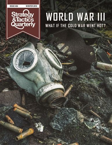 Strategy And Tactics Quartely #4: Wwiii What Ifs Game Box