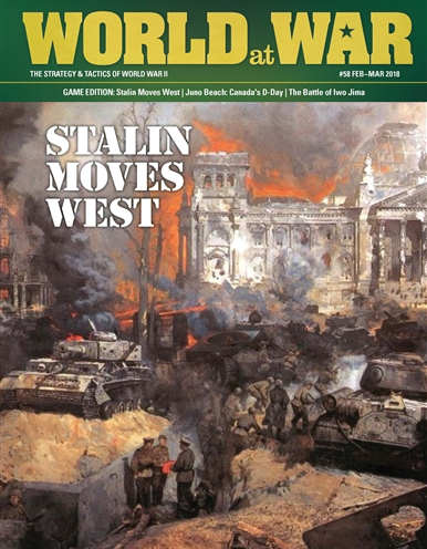 World At War #58: Stalin Moves West Box Front