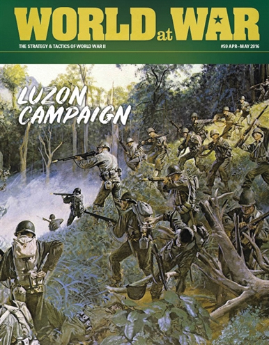 World At War #59: The Luzon Campaign 1945 Box Front