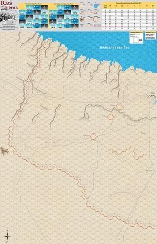 World At War #64: The Rats Of Tobruk Game Box