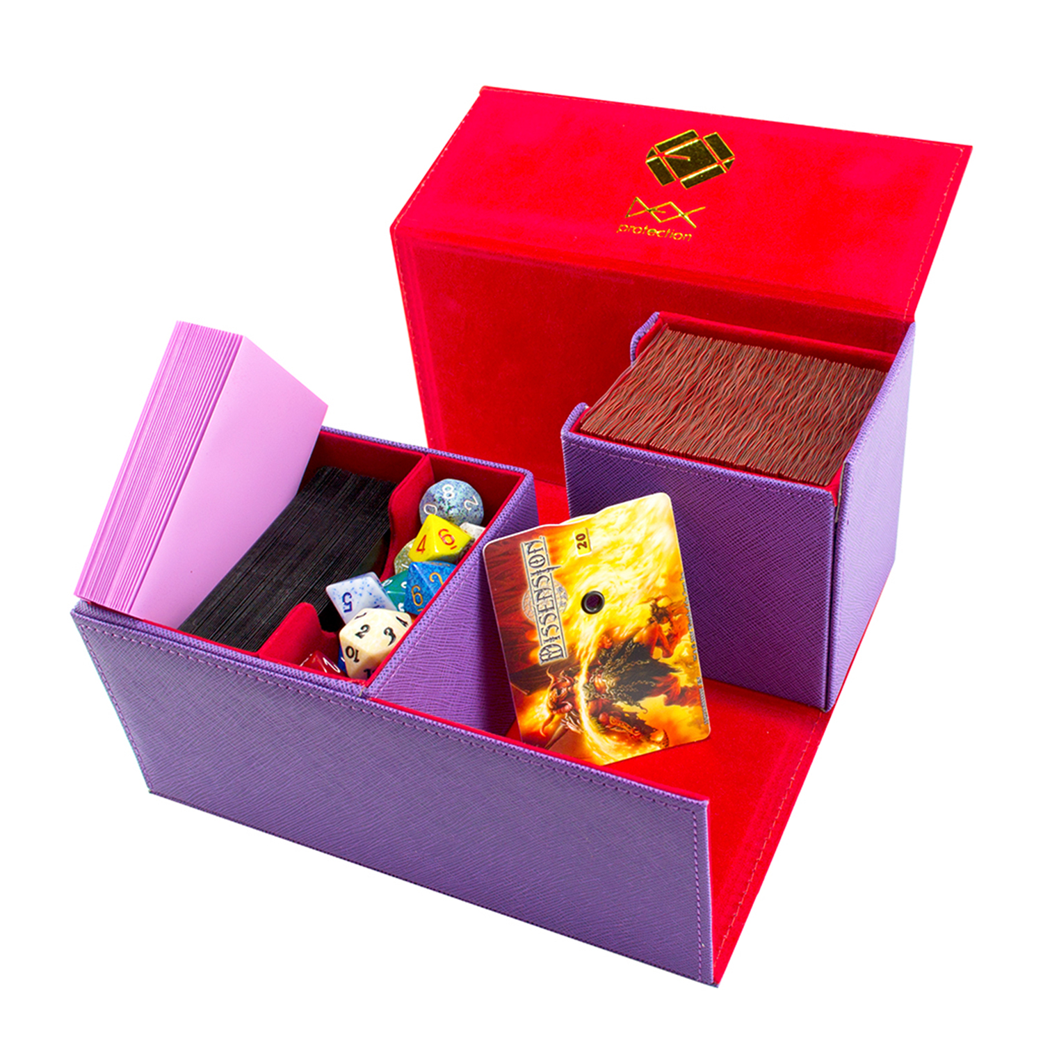 Creation Line Deck Box: Large - Purple