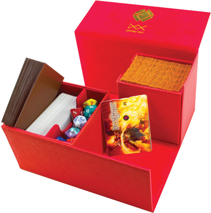 Creation Line Deck Box: Large - Red Box Front