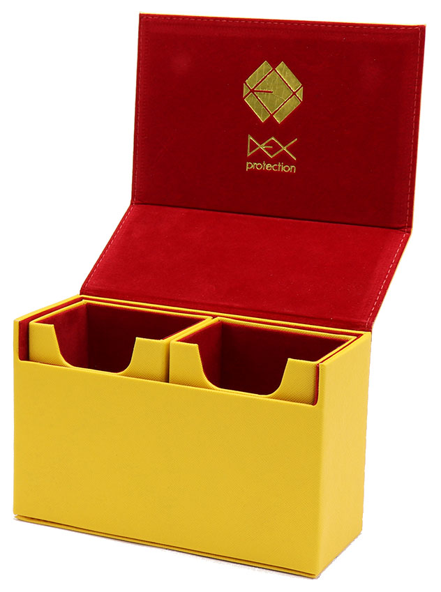 The Dex Binder 9 - Yellow Box Front
