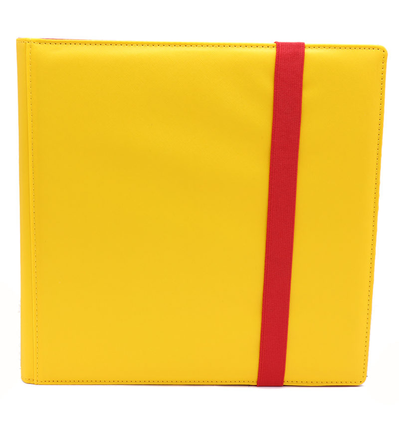 The Dex Zip Binder 12: Yellow Game Box