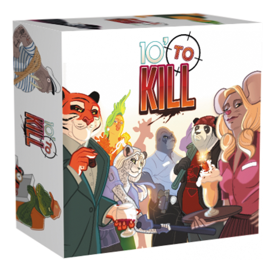 10 Minutes To Kill Box Front