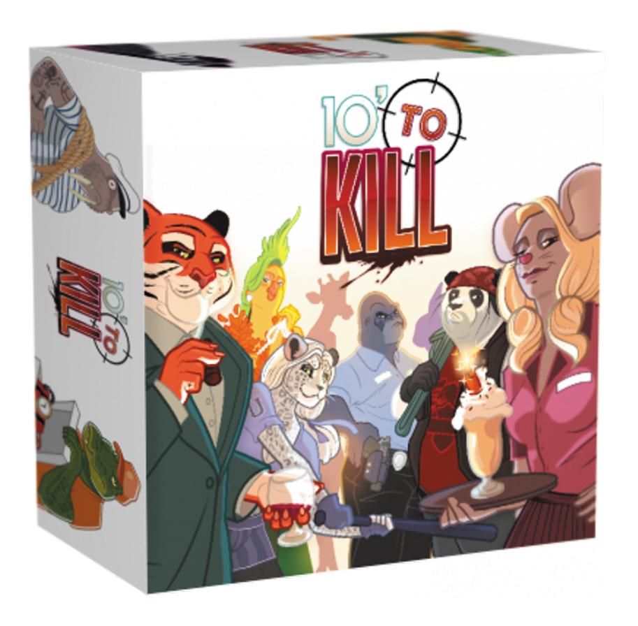 10 Minutes To Kill Box Front