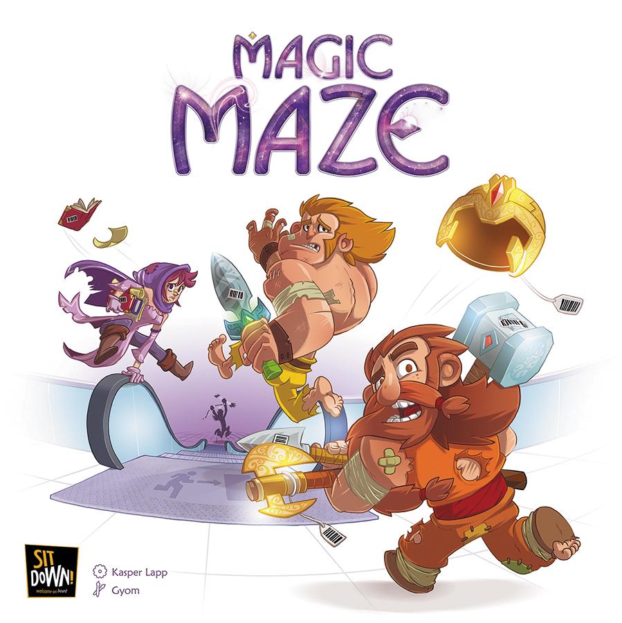 Magic Maze Box Front
