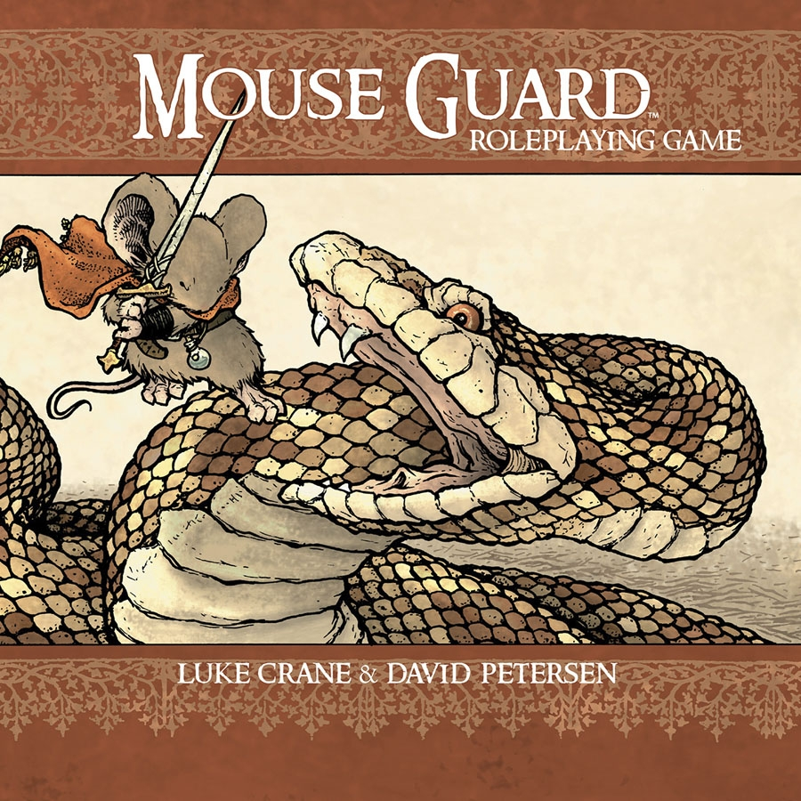 Mouse Guard Roleplaying Game Hc (2nd Edition) Box Front