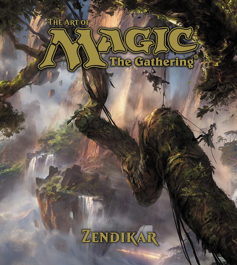 The Art Of Magic: The Gathering - Zendikar Hc Box Front