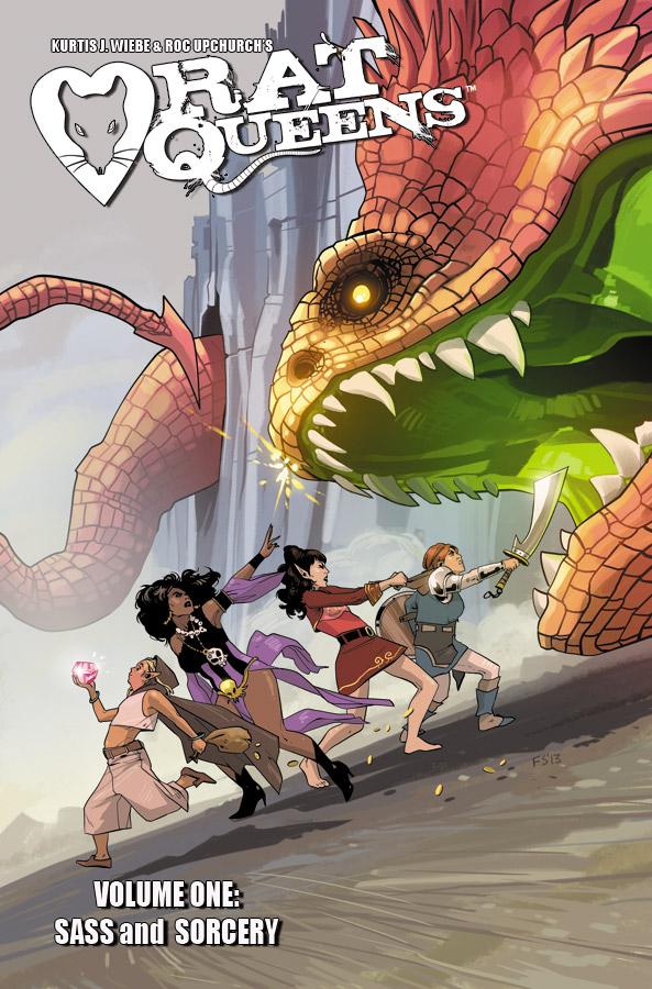 Rat Queens Sass & Sorcery Trade Paperback Volume 01