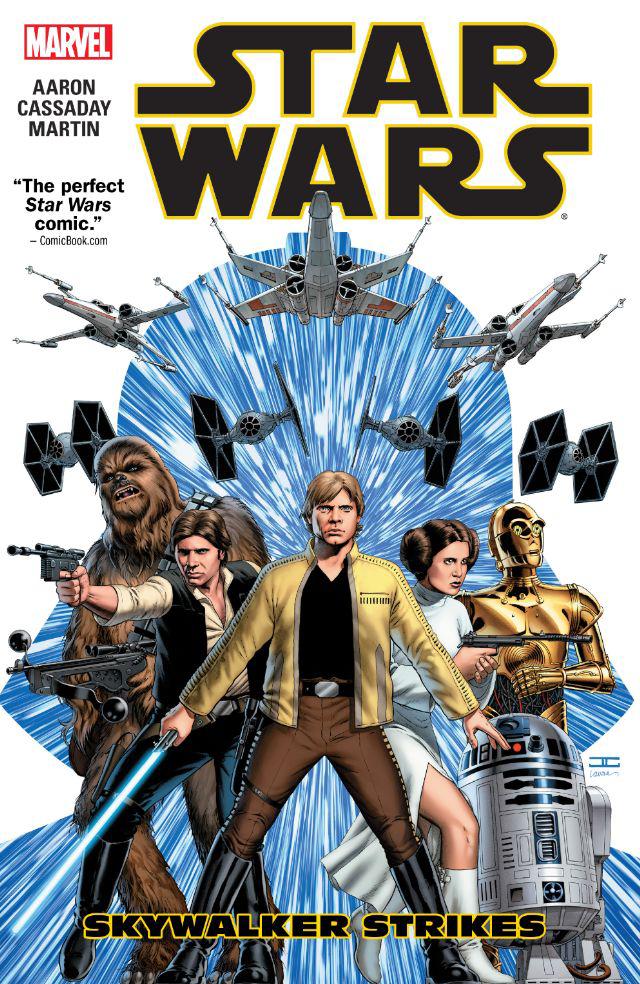 Star Wars Skywalker Strikes Trade Paperback Volume 01