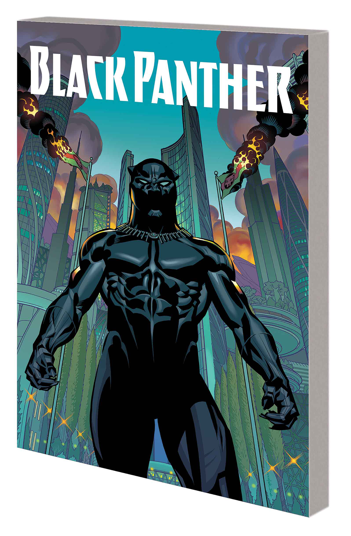 Black Panther Nation Under Our Feet Trade Paperback Book 01