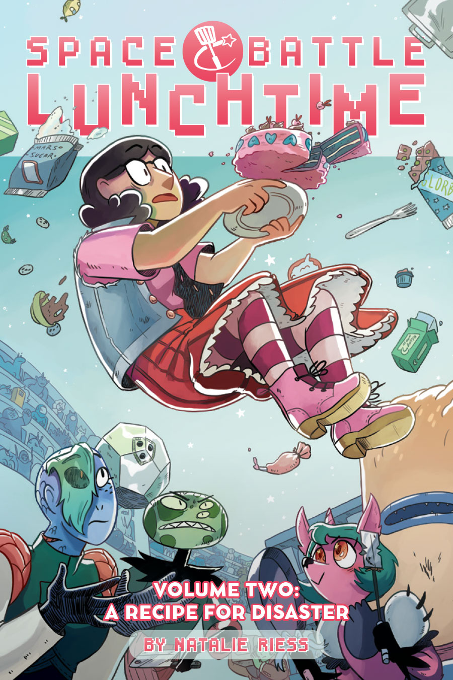 Space Battle Lunchtime A Recipe For Disaster Trade Paperback Volume 02