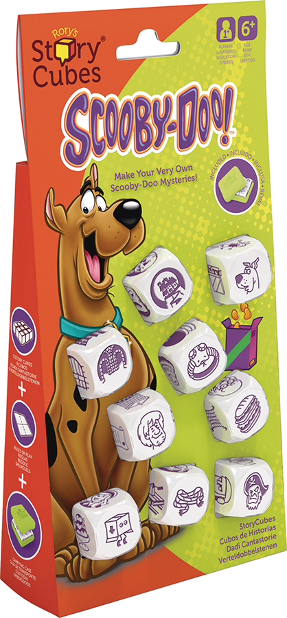 Rorys Story Cubes: Scooby Doo Dice Set Box Front