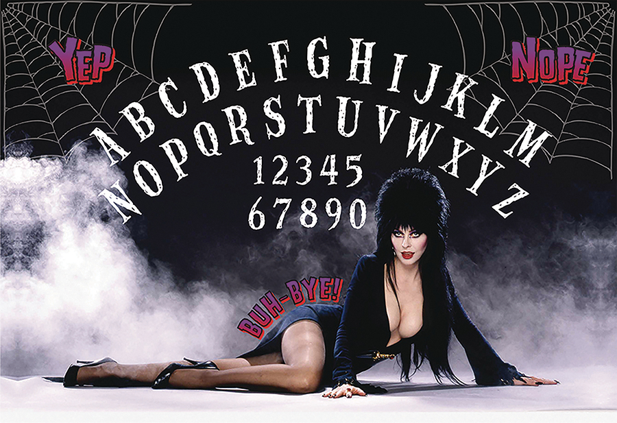 Elvira Mistress Of The Dark Spectral Switchboard Box Front