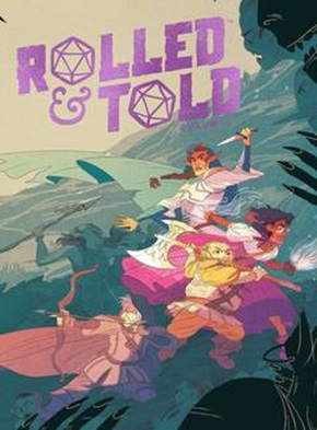 Rolled & Told Volume 1 Hardcover Game Box