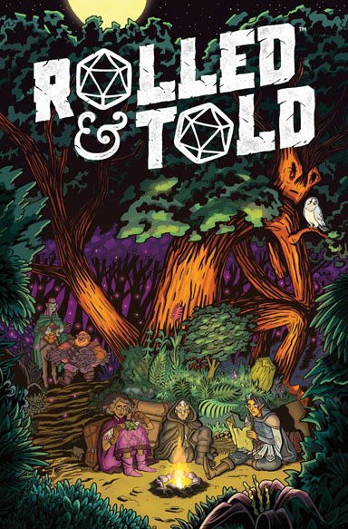 Rolled & Told Magazine #8 (april 2019) Game Box