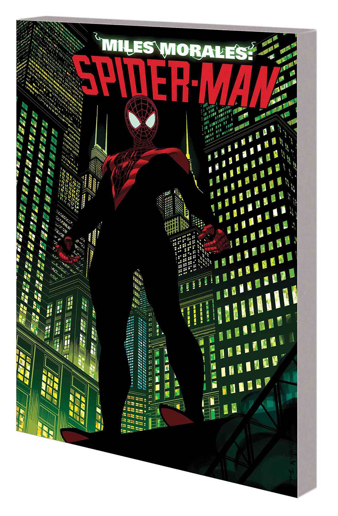 Miles Morales Straight Out Of Brooklyn Trade Paperback Volume 01