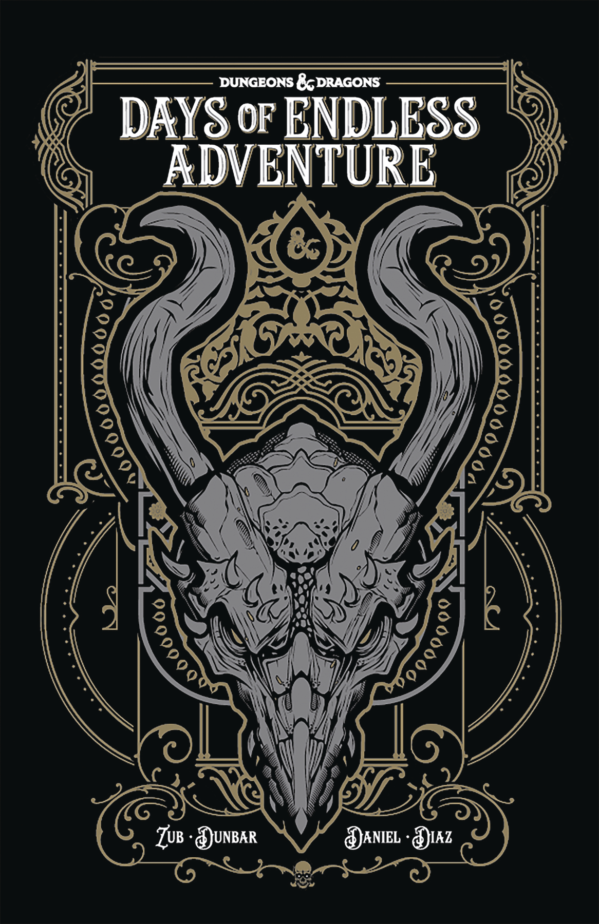 Dungeons & Dragons Days Of Endless Adventure Trade Paperback