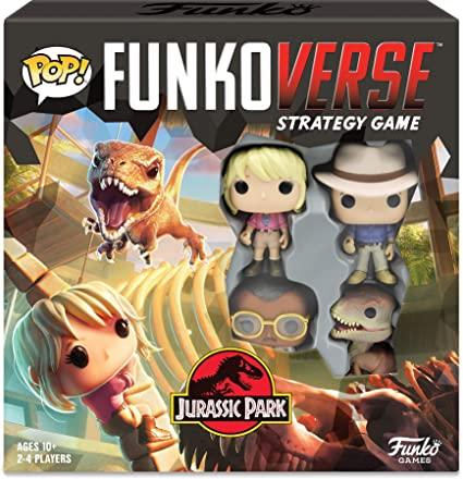 Pop! Funkoverse Strategy Game Jurassic Park 100 Base Set