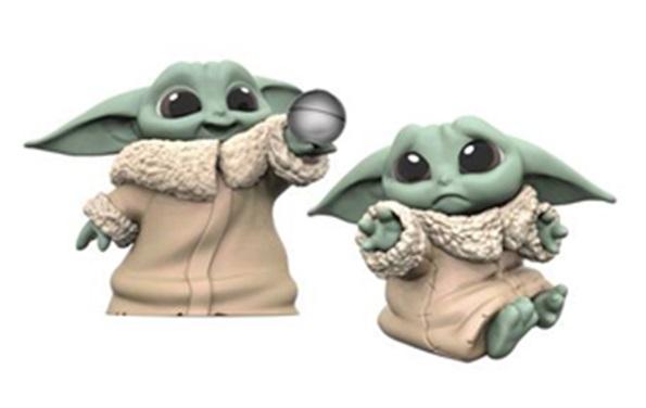 Star Wars Mandalorian Man Baby Bounties Hold Me/ball Figure (2 Pack)