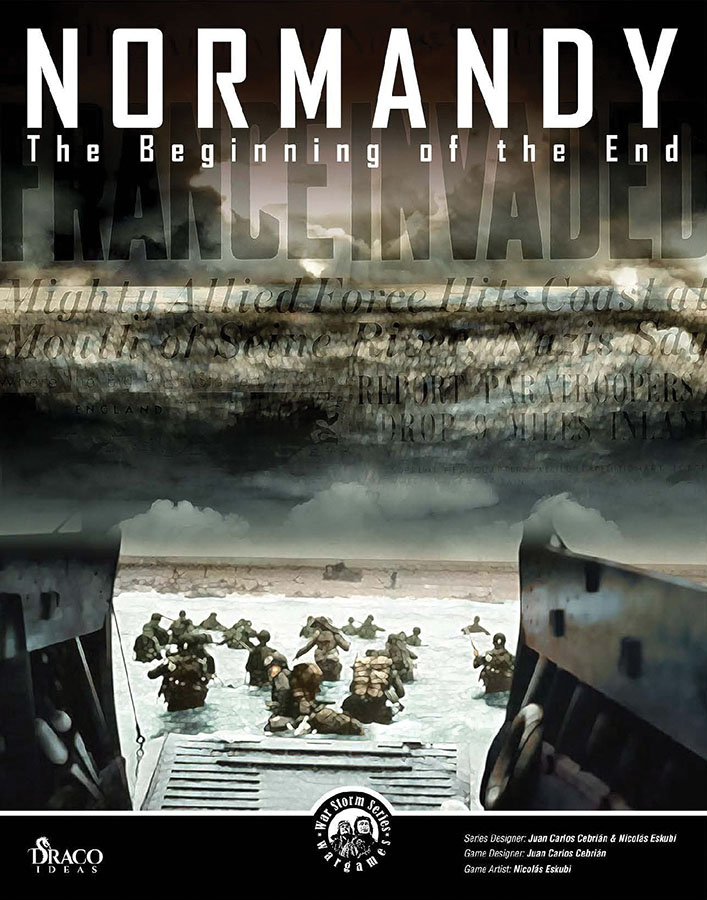 Normandy: The Beginning Of The End Game Box