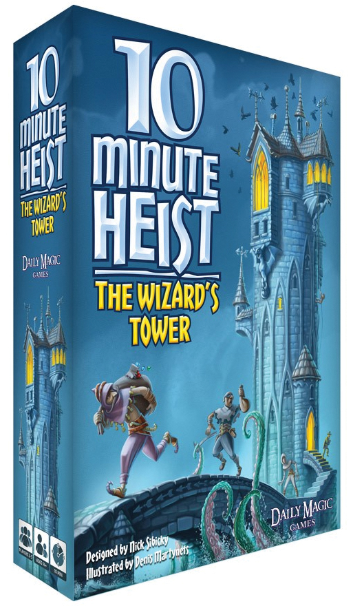 10 Minute Heist: The Wizard`s Tower Box Front