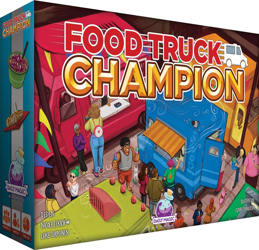 Food Truck Champion Box Front