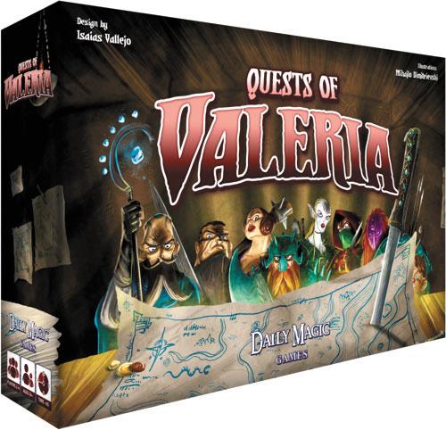 Quests Of Valeria Box Front