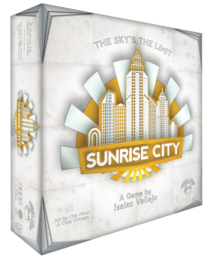 Sunrise City Box Front