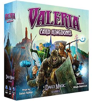 Valeria Card Kingdoms Box Front