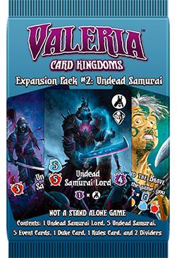 Valeria: Undead Samurai Expansion Pack 2 Game Box