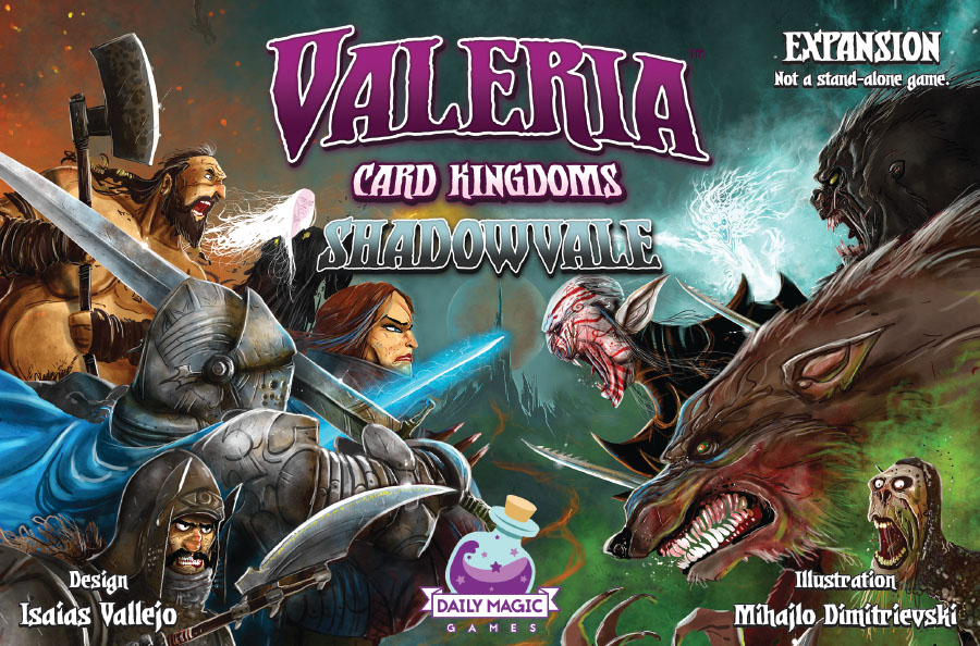 Valeria Card Kingdoms: Shadowvale Expansion Game Box