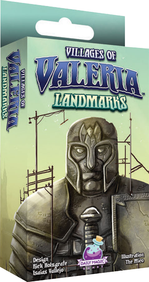 Villages Of Valeria: Landmarks Expansion Game Box