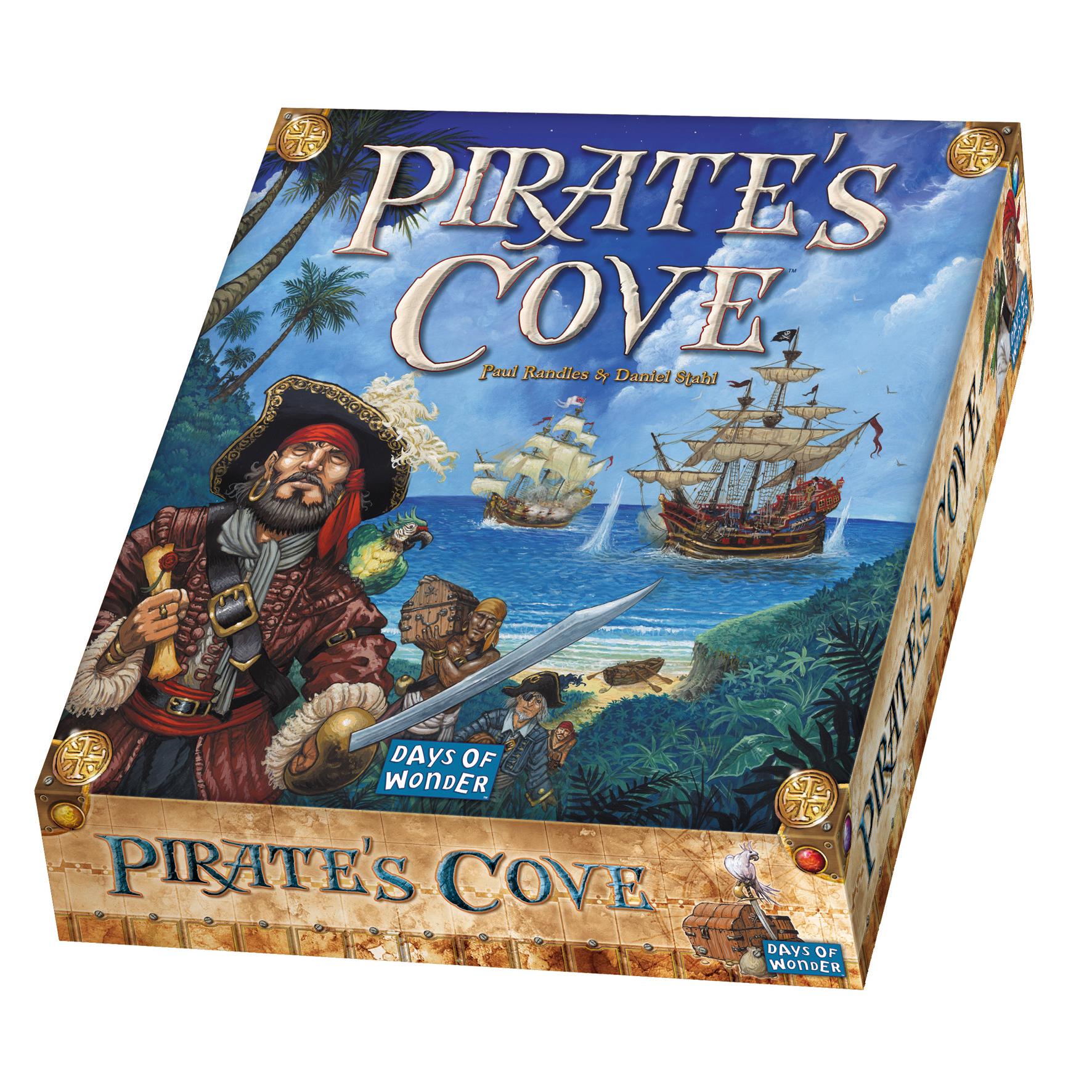 Pirates Cove Box Front