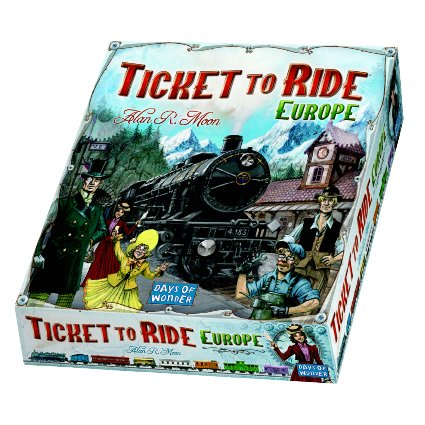 Ticket To Ride: Europe Box Front