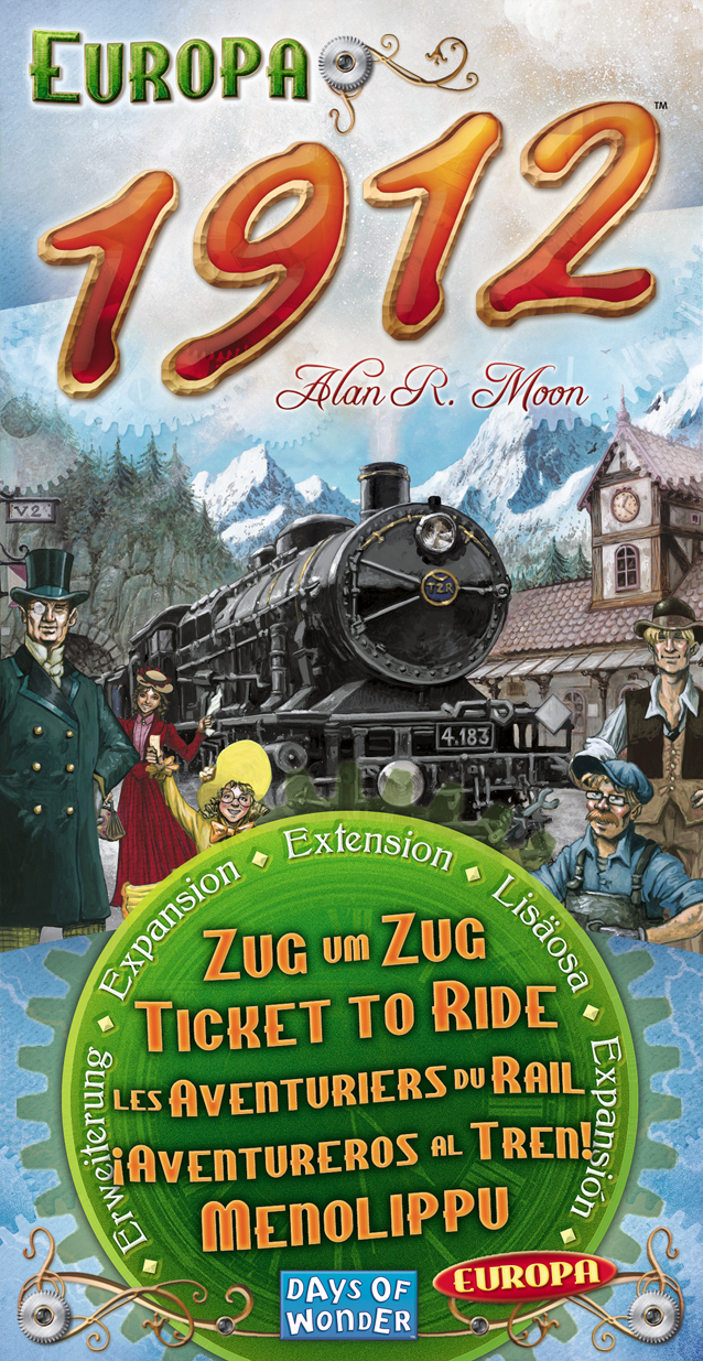 Ticket To Ride: Europa 1912 Expansion Box Front