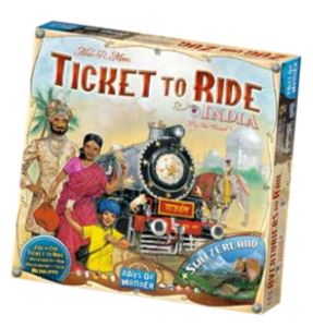 Ticket To Ride: Map Collection V2 - India Box Front