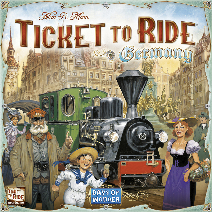 Ticket To Ride: Germany Box Front