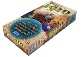 Ticket To Ride: Usa 1910 Expansion Box Front