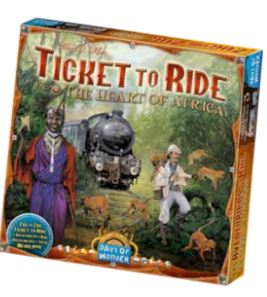 Ticket To Ride: Map Collection V3 - The Heart Of Africa Box Front