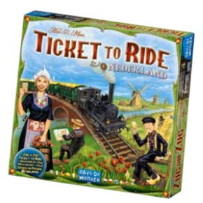Ticket To Ride: Map Collection V4 - Nederland Box Front